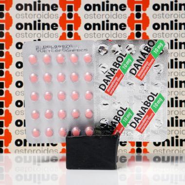 Danabol 10 mg Balkan Pharmaceuticals