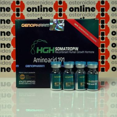 HGH Somatropin Amino acid 191 10 IU Genopharm